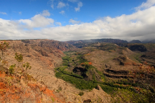 View of Waimea Canyon, Koke'e State Park